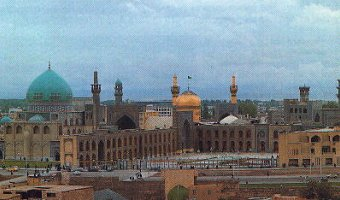View of the Holy Precinct, Mashhad